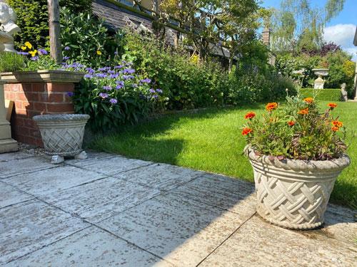 Weathered Small Jardiniere