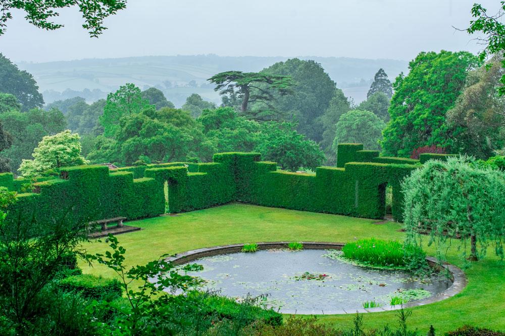 A traditional garden