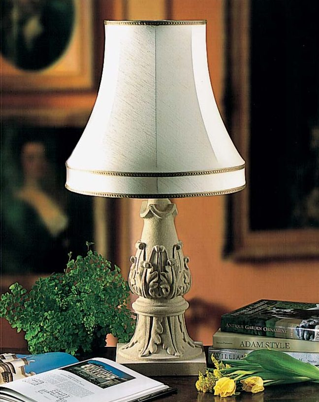 Acanthus Table Lamp (Shade not included)