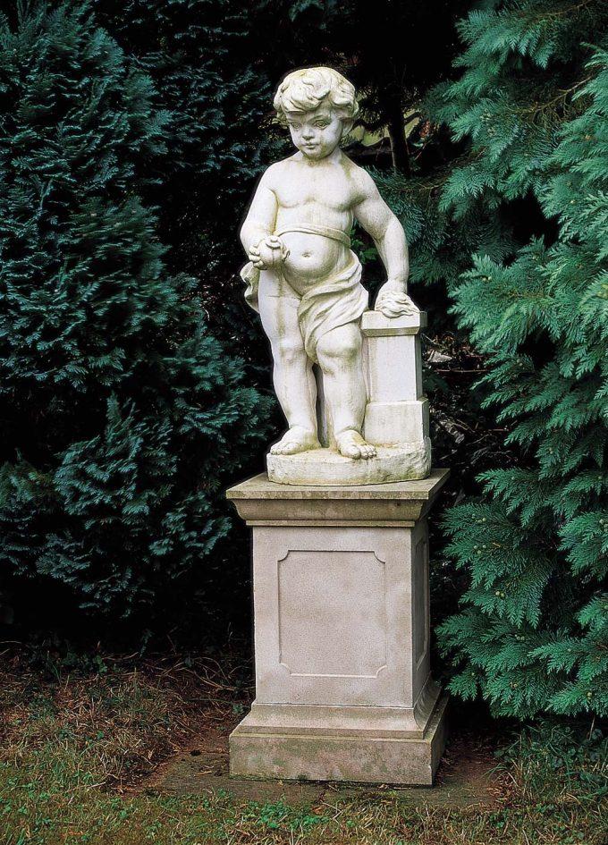 Fire statue