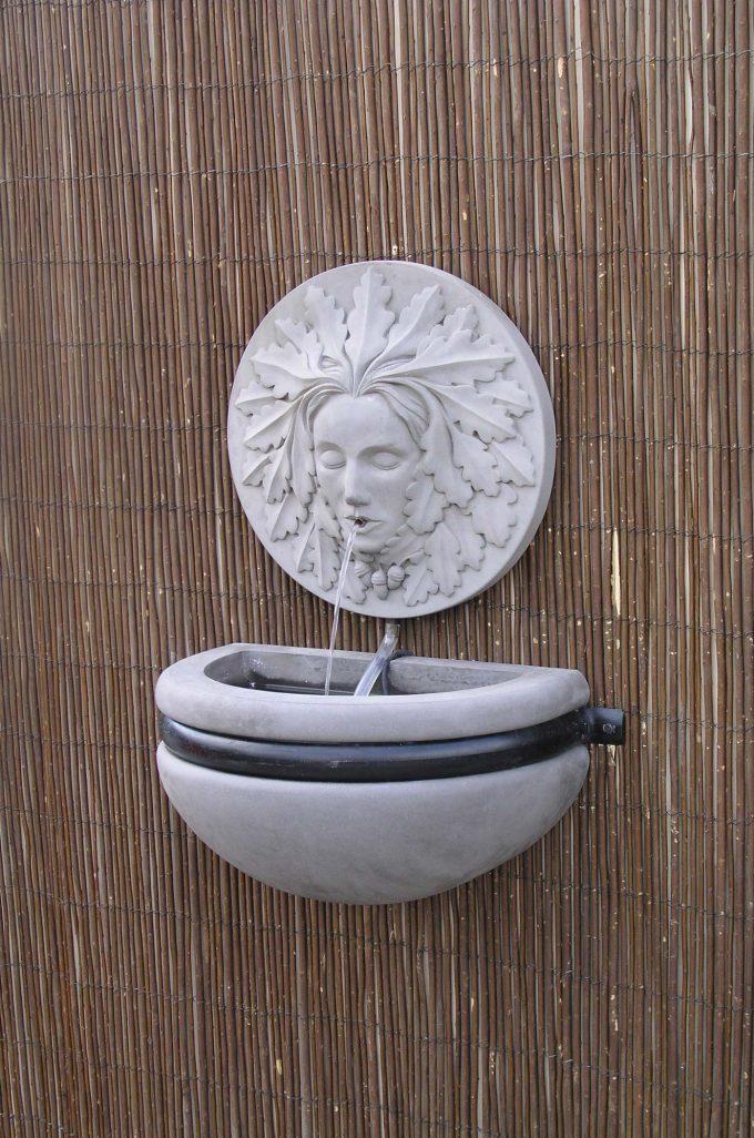 Green Woman Bowl Fountain