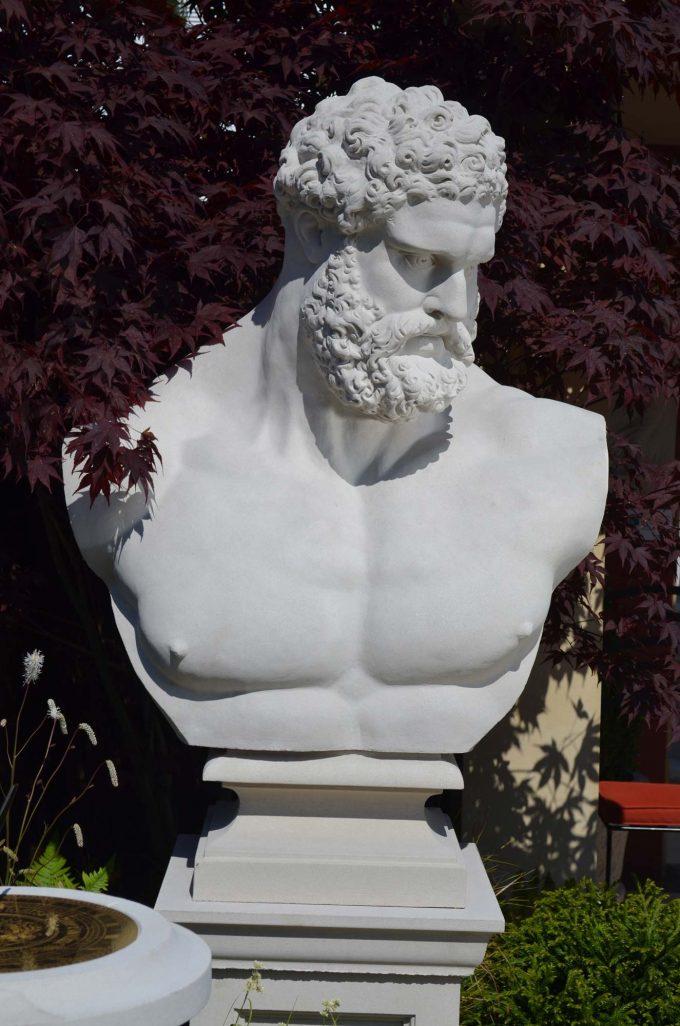 Soane Hercules Bust