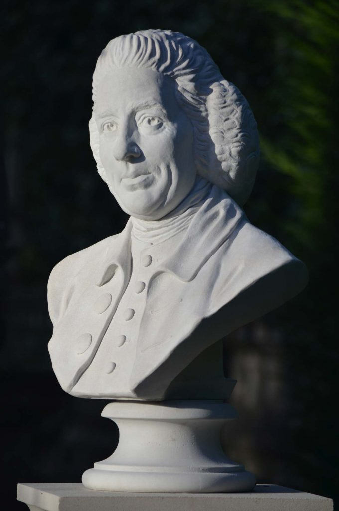 "Lancelot ""Capability"" Brown bust"