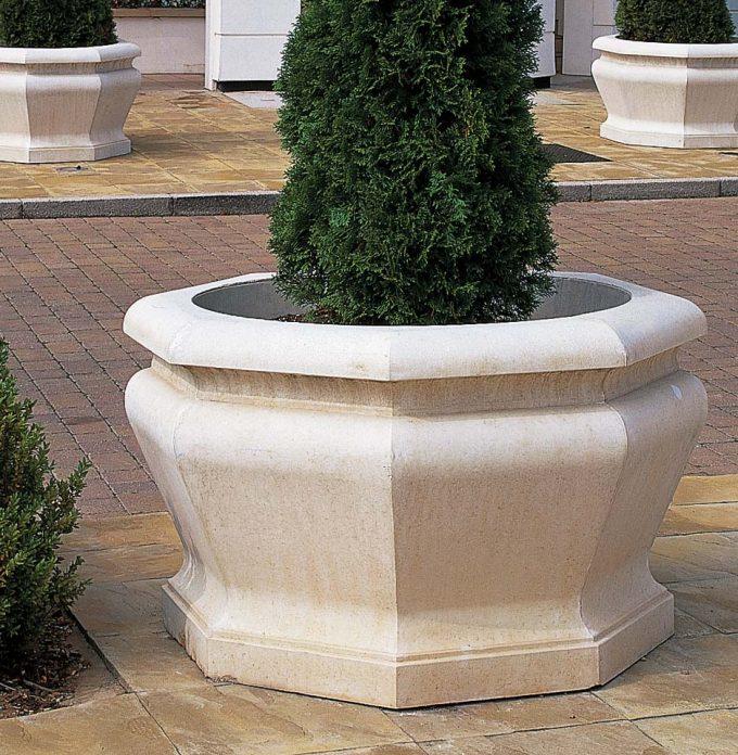Large Octagonal Jardiniere