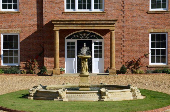 Large Pool kerbs, vases and plinths