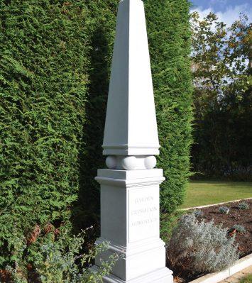 Memorial Obelisk & Pedestal