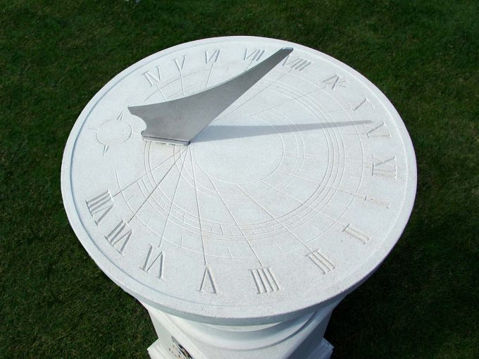 Memorial Classical Sundial and Pedestal