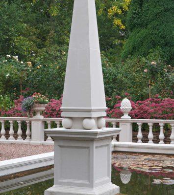 Obelisk including pedestal