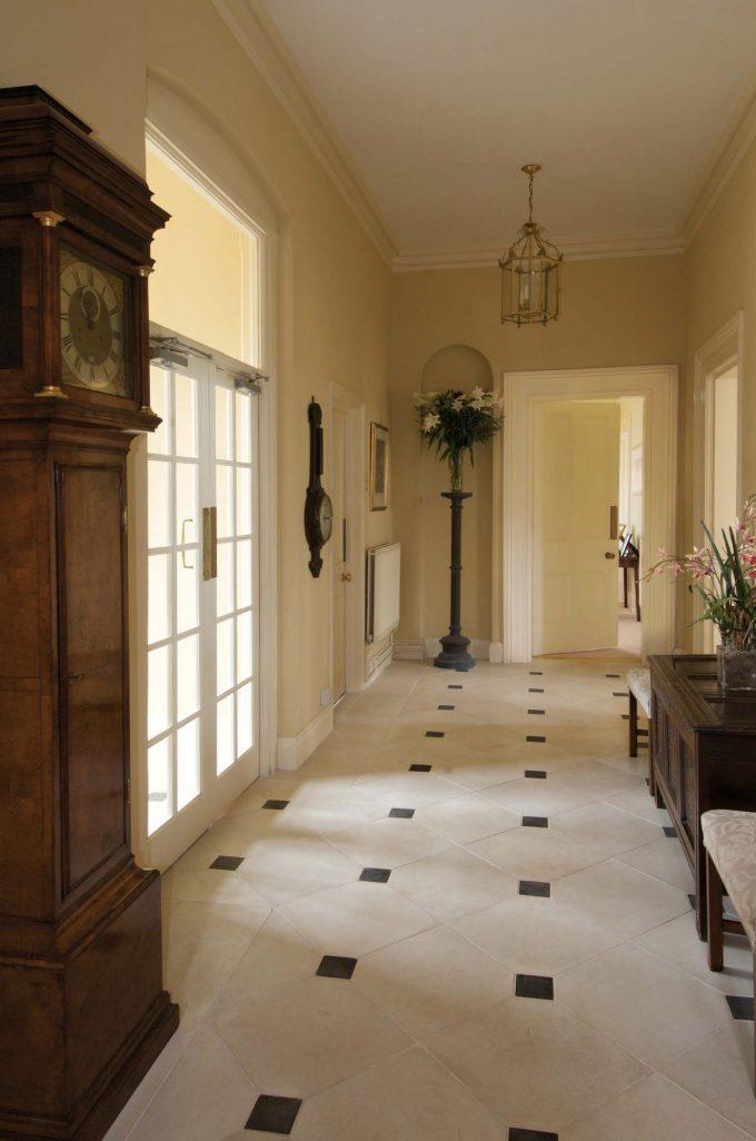 Orangery Floor Tile Corner Infill Block HN750D