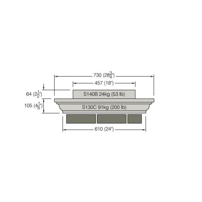 Pier Block - S140B
