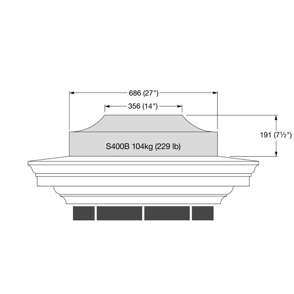 Pier Block - S400B
