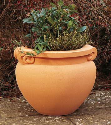 Small Scrolled Jardiniere