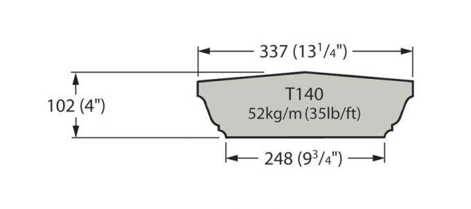 T140 Cast Stone Coping