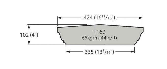 T160 Cast Stone Coping