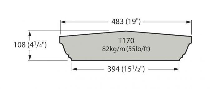 T170 Cast Stone Coping