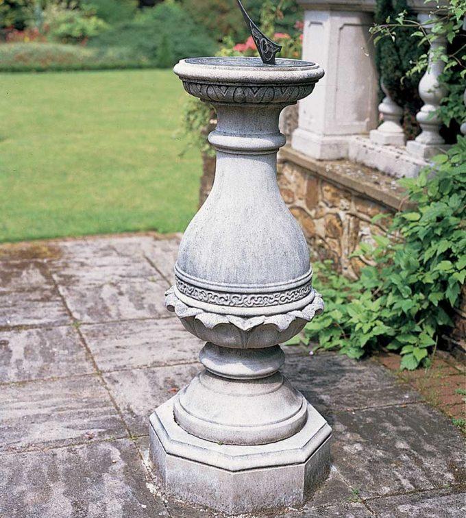 XVIII Century Sundial Plinth
