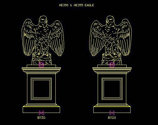 Eagle (left hand)