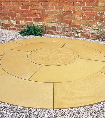 ArCADian Circular Paving ~ with Celtic Disc