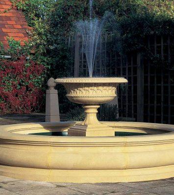 Roman Half Small Pool