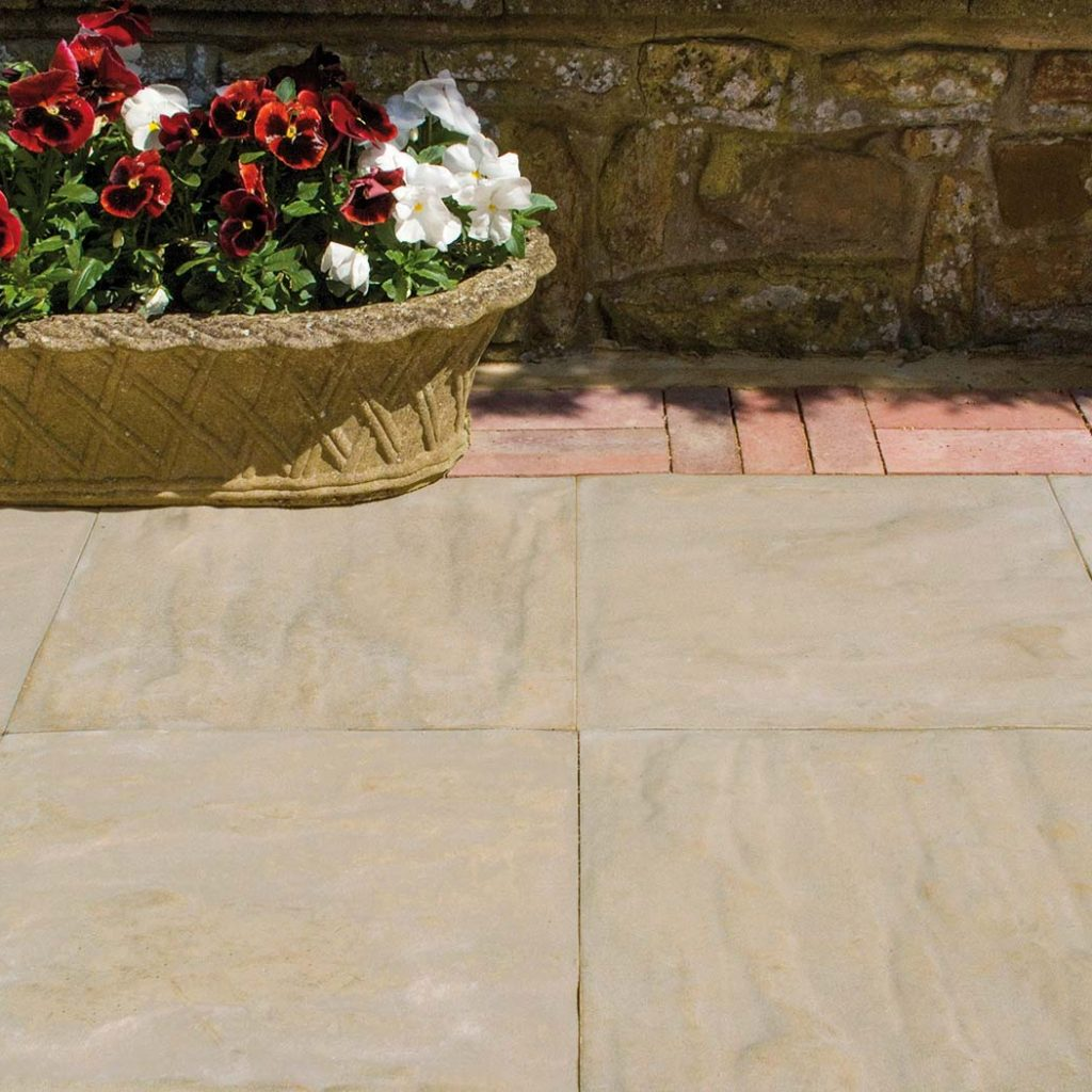 cast stone riven paving by haddonstone