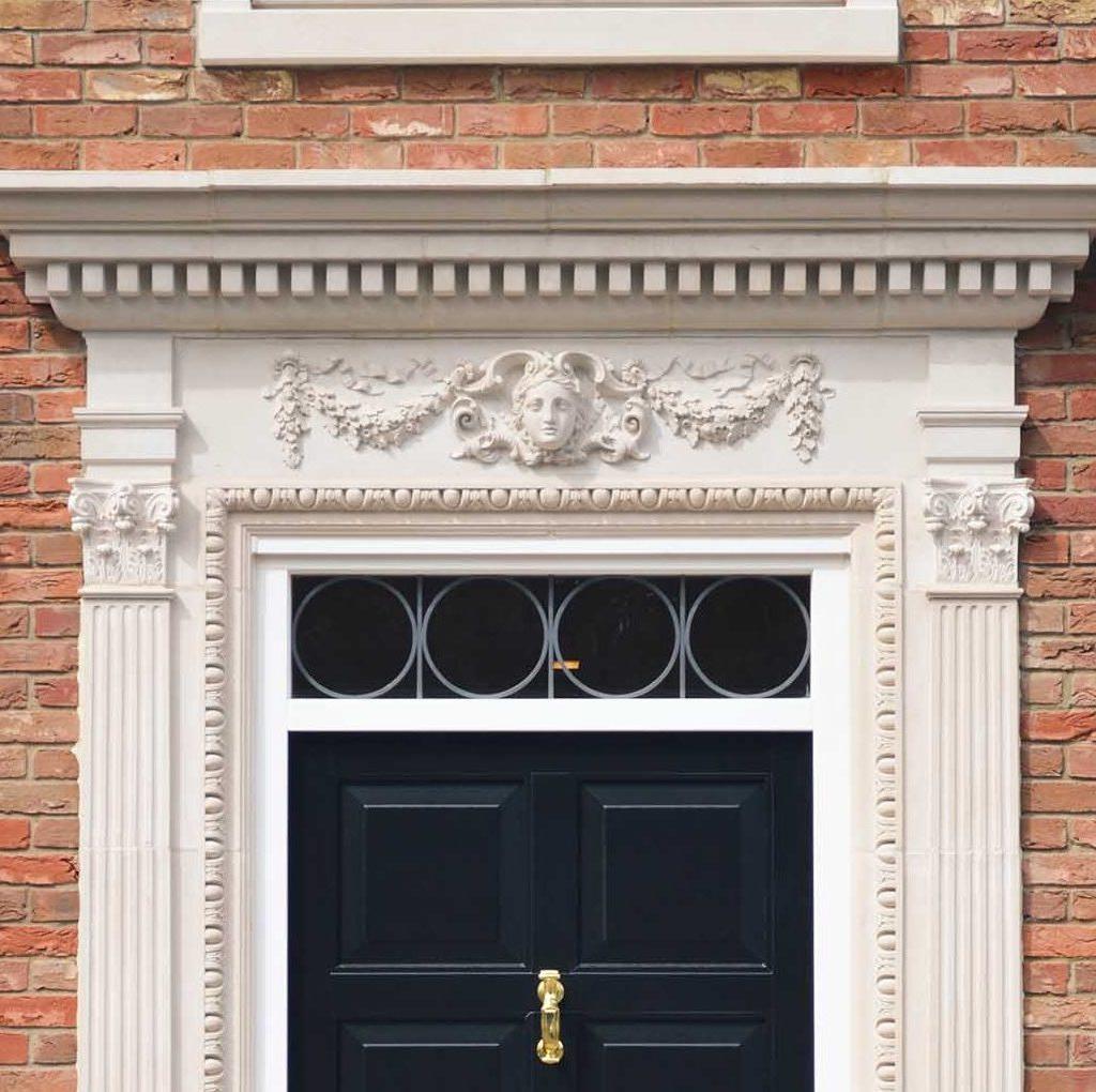 door surrounds in cast stone by haddonstone