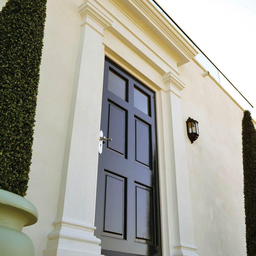 georgian door surrounds in cast stone by haddonstone