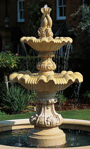 Neapolitan Large Double Fountain