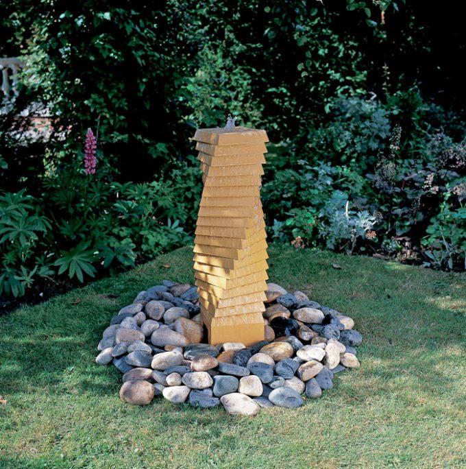Spiral Tower Fountain