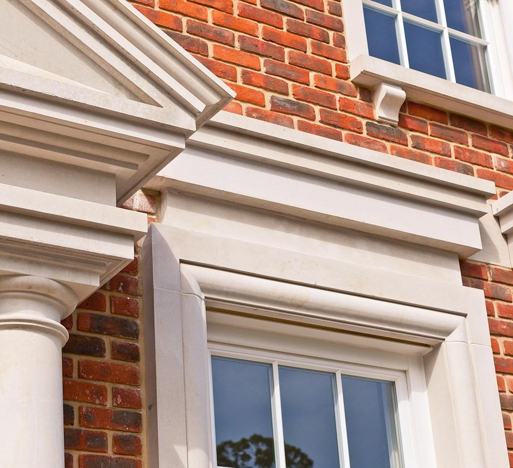 wootton place corbels and window surrounds