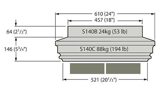 Pier Cap - S140C
