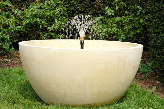 Crucible Bowl Fountain