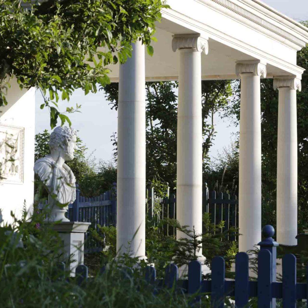 Colonnade Court at the laskett gardens