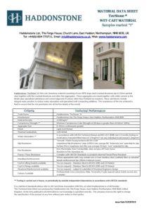 Tecstone Data Sheet