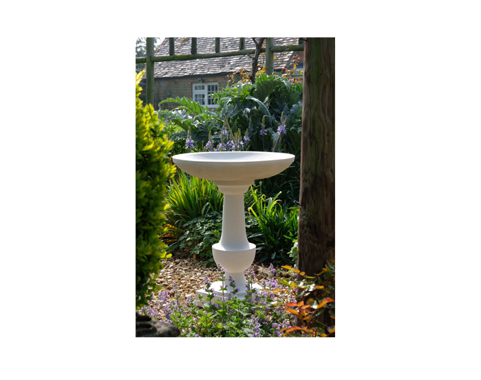 the haddonstone baluster bird bath