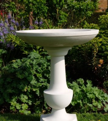 Baluster Bird Bath