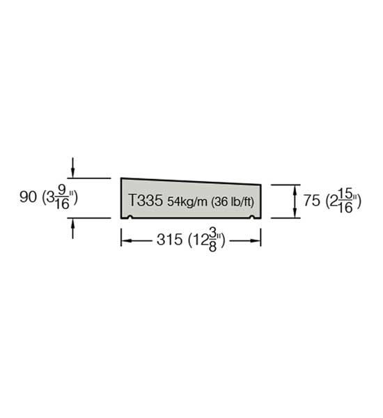 T335 Copings