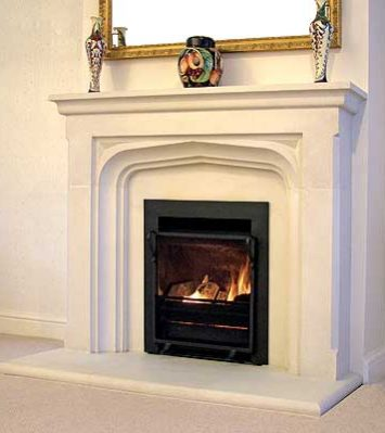 Manor House Fireplace rebated including Slips and Hearth