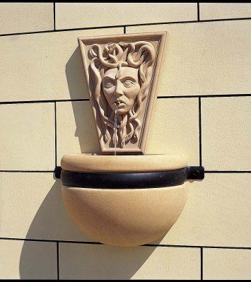 Medusa Bowl Fountain