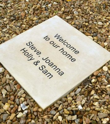 Personalised Paving Stone