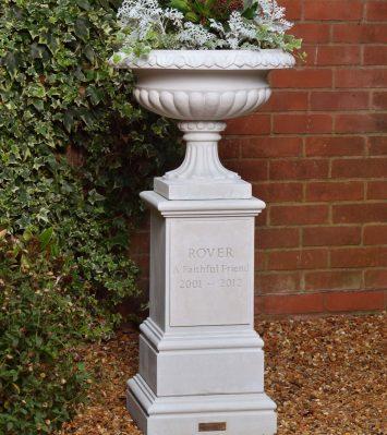 Pet Memorial Vase & Pedestal