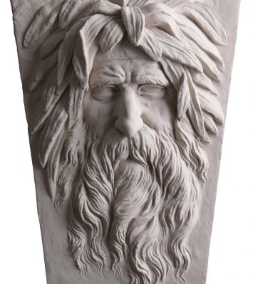 Soane River God Mask