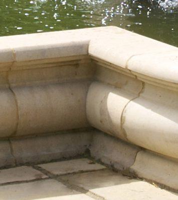 Roman Pool Inside Corner Stone