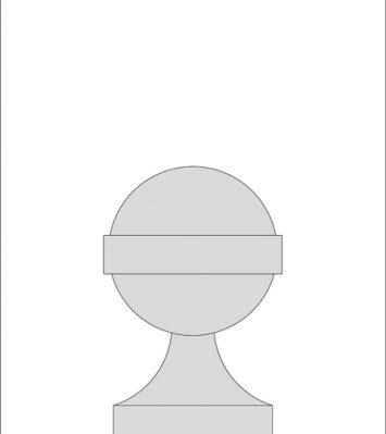 Vanbrugh Ball Finial