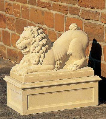 XVIII Century Lion Pedestal