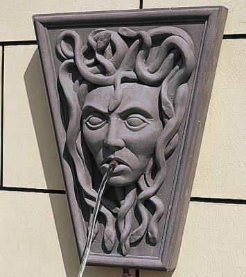 Medusa Wall Fountain