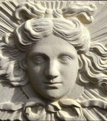 Soane Apollo Sunburst Plaque
