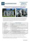 Haddonstone Data Sheet