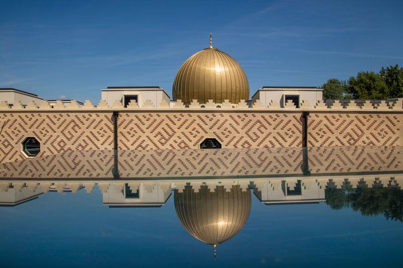 cambridge central mosque parapet